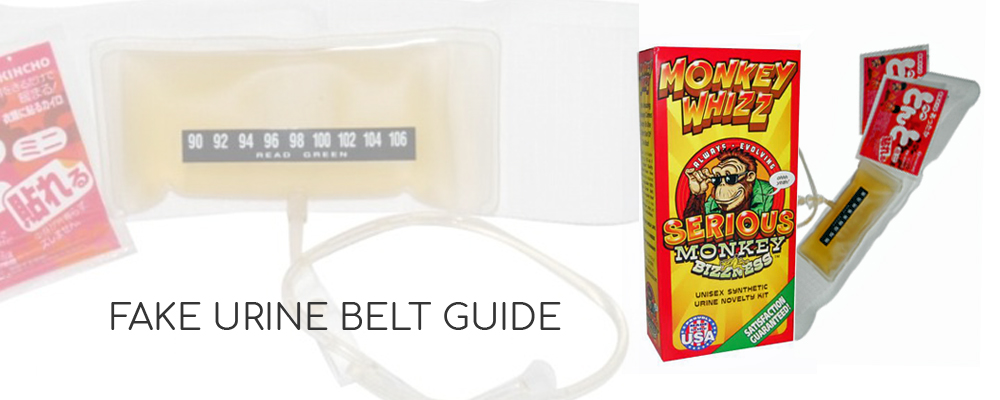 synthetic urine belt guide
